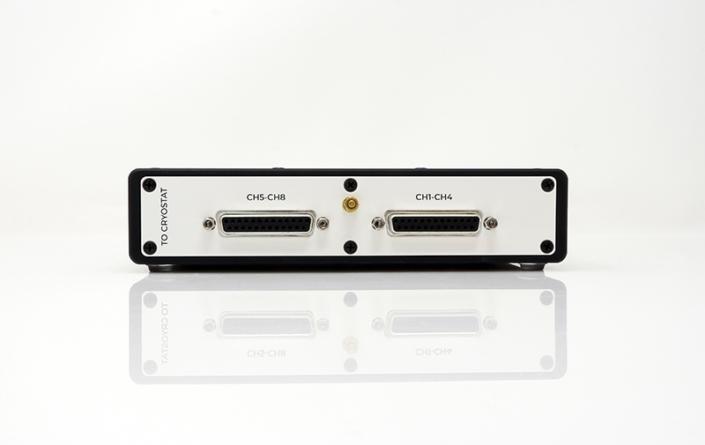 Bluefors Temperature Controller pre-amplifier back