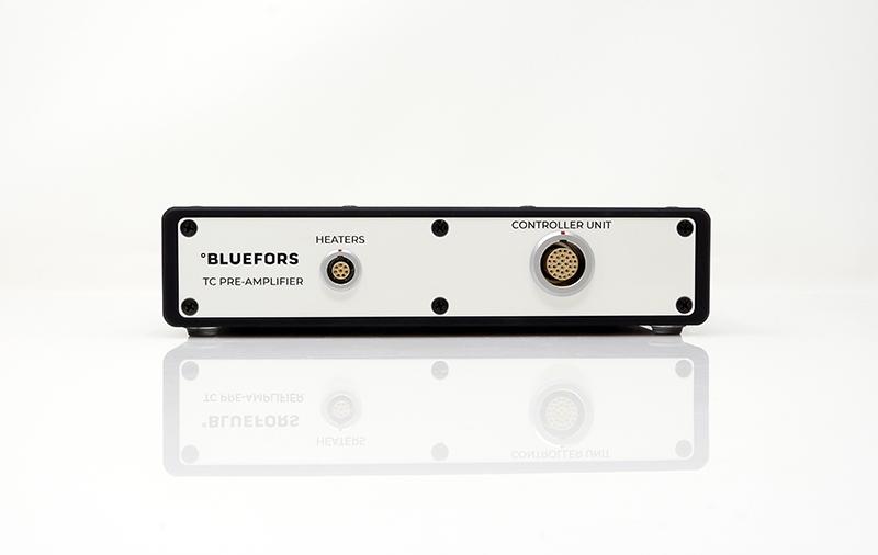 Bluefors Temperature Controller pre-amplifier front