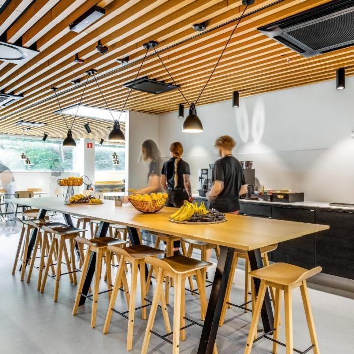 Bluefors new offices 2020 design by Agile Work photo by Santeri Sarkola